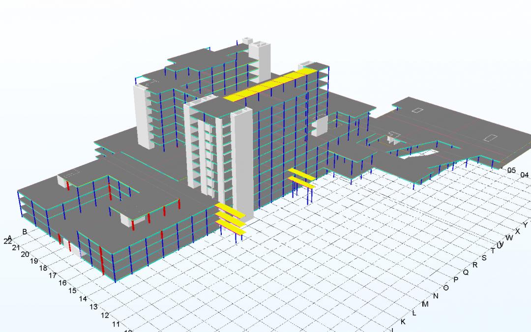 Tender Take-off Modelling – Westmead Hospital