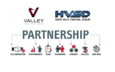 Valley Structures and Hunter Valley Structural Detailing Announce Partnership